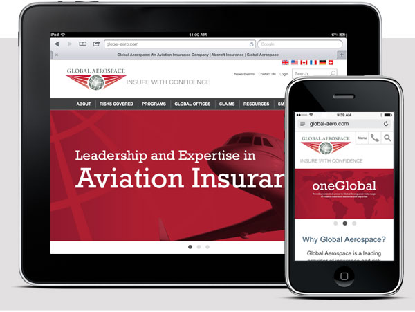 Global Aerospace website img-01